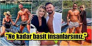 Tam Kapanmayı Özel Yatında Geçiren Gökhan Çıra, Selin Ciğerci ile Olan Fotoğrafına Gelen Bir Yoruma Küfretti