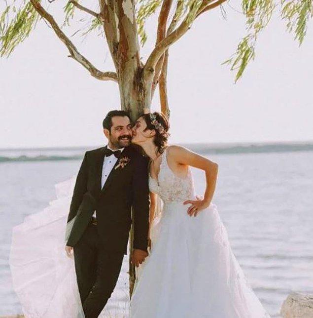 Bu da farklı bir düğün pozu.