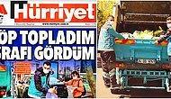 """Hürriyet Gazetesinin """"Zenginle Fakirin İsrafta Farkı Yok"""" Başlıklı Skandal Manşeti Büyük Tepki Gördü"""