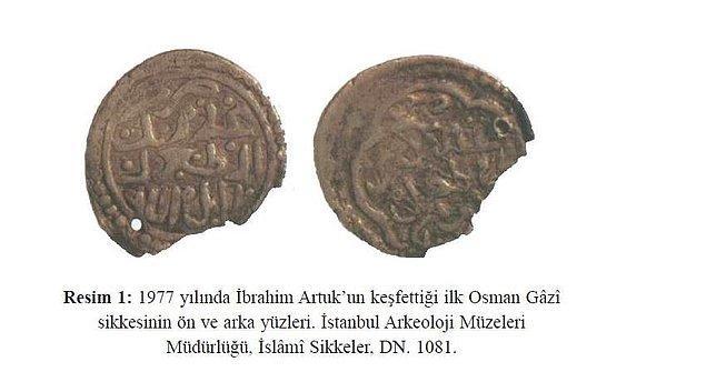 Gördüğünüz üzere Osman Gazi döneminde basılmış Sikke'de Ataman değil, Osman yazıyor ve çok rahat okunabiliyor.