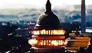 İran Devrim Muhafızları Ordusu'nun Yer Aldığı Propaganda Videosunda 'ABD Kongre Binası' Havaya Uçuruldu