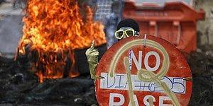 Fakire Ekmek Yoksa Zengine Huzur Yok! Kolombiya'daki Protestolardan Objektiflere Yansıyan 19 Kare