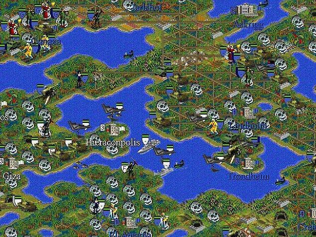 12. Sid Meier's Civilization II - 94