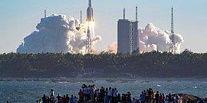'Çin'in Kontrolden Çıkan Roketi Cumartesi Dünya'ya Düşebilir'