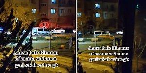 Sokağa Çıkma Yasağını İhlal Edene Polisten Anons: 'Binanın Arkasına Saklanan Gerizekalı Evine Git'