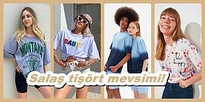İndirimden Hemen Almak İsteyeceğiniz Birbirinden Güzel 23 Salaş Tişört