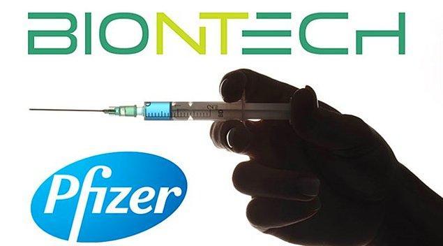 Daha önce BioNTech-Pfizer'den 2.4 milyar doz alınmıştı