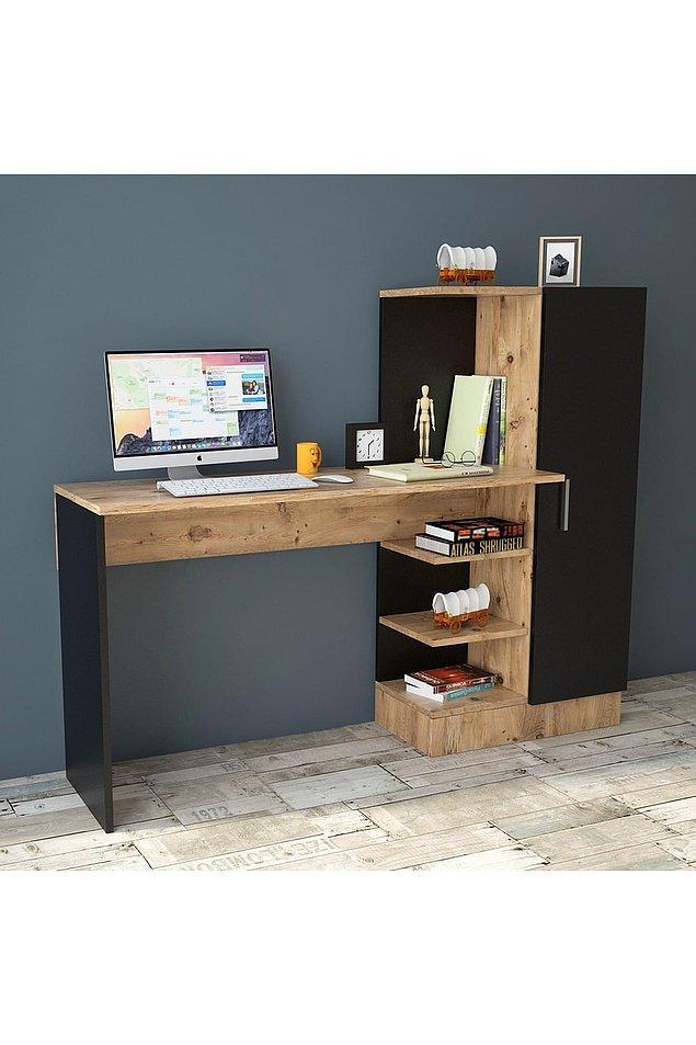 12. Home office çalışıyorsan kendine bir çalışma köşesi oluşturabilirsin.