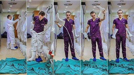 ?· Yaşatmak İçin Verilen O Mücadele, Bir Sağlıkçının Objektifine Böyle Yansıdı...