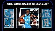 Michael Jordan'ın Üniversite Kariyerinde Giydiği Forma 1,38 Milyon Dolara Satıldı