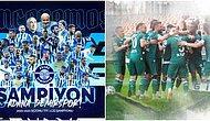Adana Demirspor ve Giresunspor Süper Lig'e Yükseldi