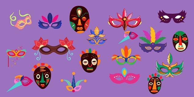 4. Hangi maskenin çifti vardır?