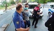 Polislerin Üzerine Yürüdü! Maske Takmamak İçin Direnen Turist Gözaltına Alındı