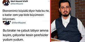 Balıkesir AKP Gençlik Kolları Başkanı Mert Nazmi Vizili'nin AKP'yi Eleştirdiği Küfürlü Tweetleri Ortaya Çıktı