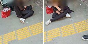 Maske Cezası Yazılan Kadın Yere Oturup Ağladı: 'Yazdı Gitti 5.000 TL, Ben Nereden Ödeyeceğim?'