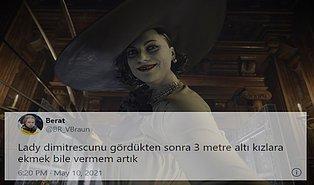 Oyunun Bile Önüne Geçerek Oyuncuların Gönlünde Adeta Taht Kuran Lady Dimitrescu'ya Gelen Tepkiler