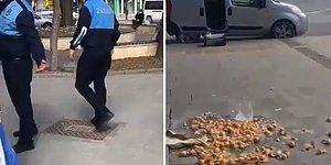 Zabıtanın, Sokakta Yumurta Satan Yaşlı Adamın Yumurtalarını Yere Attığı İddia Edildi