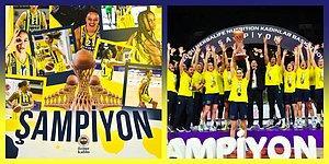Kadınlar Basketbol Süper Ligi'nde Fenerbahçe Öznur Kablo Namağlup Şampiyon!