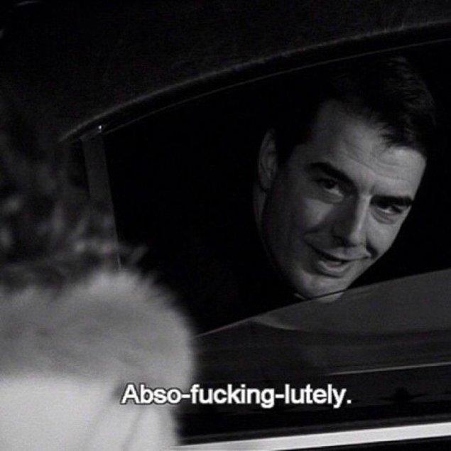 """""""Bir süre sonra, sadece seni güldüren biriyle birlikte olmak istersin."""" -Mr. Big"""