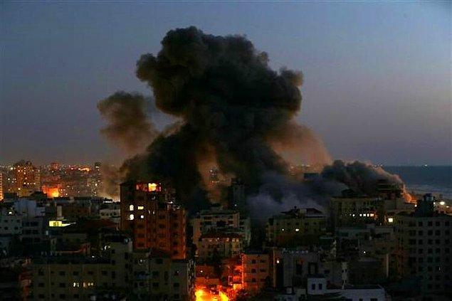 Dün düzenlenen saldırılarda çoğu çocuk, 24 kişi hayatını kaybetti...