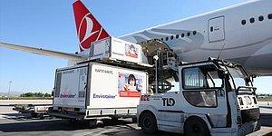 Çin'den Gelen Yeni Parti Sinovac Aşısı Türkiye'ye Ulaştı