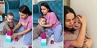 Filistin'de Yaşananlara Dikkat Çekmek İçin Çektiği Videoda Çocuğunu Korkutan TikToker