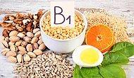 B1 Vitamini Nedir? B1 Vitamini Hangi Besinlerde Bulunur?