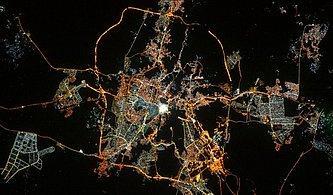 """Fransız Astronot Paylaştı: Uzaydan """"Kabeli"""" Ramazan Bayramı Tebriği"""