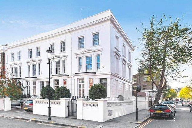 3. Süperstar Tarkan'ın Londra'daki 54 milyon liralık evini zaten bilmeyen yoktur.