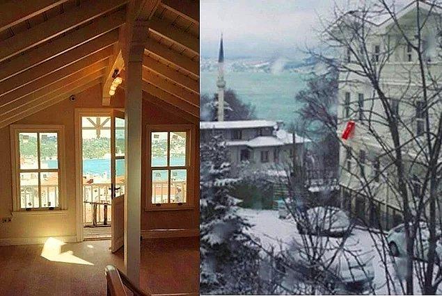 5. Sinem Kobal ve Kenan İmirzalıoğlu'nun boğazı gören lüks villası: