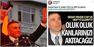 Gün Geçmiyor ki Birileri Kandırılmasın: Yandaş Medya Kuruluşlarının Geçmişte Paylaştığı Sedat Peker Tweetleri
