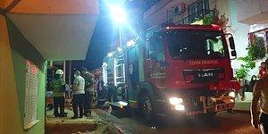 İzmir'de Korkunç Olay: 'Babası Uyurken Evi Ateşe Verip Kaçtı'