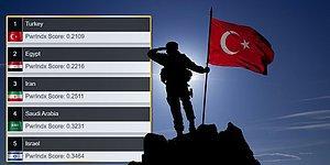 Askeri Güç Endeksi: TSK Ortadoğu'da İlk, Dünyada 11. Sırada