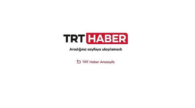 TRT Haber sabah saatlerinde siteye koyduğu haberi öğlen saatlerinde kaldırdı.