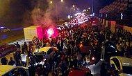 Salgın Yine Unutuldu: Beşiktaş Taraftarı Sokağa İndi