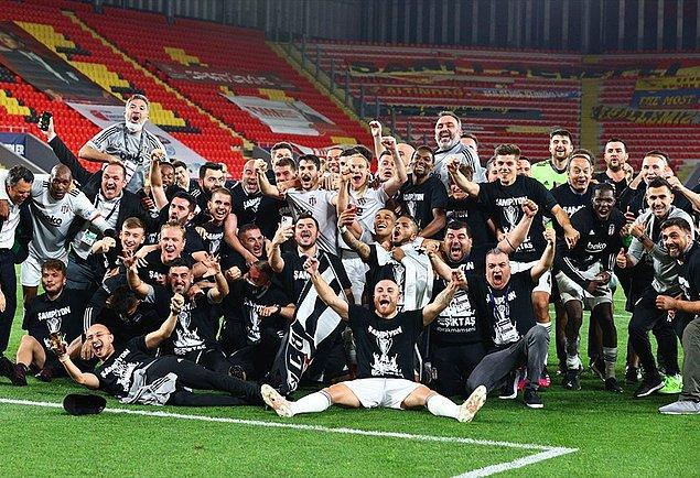 Süper Lig'de beşinci kez şampiyon averajla belli oldu. Beşiktaş ise ikinci kez averajla şampiyonluğa ulaştı.