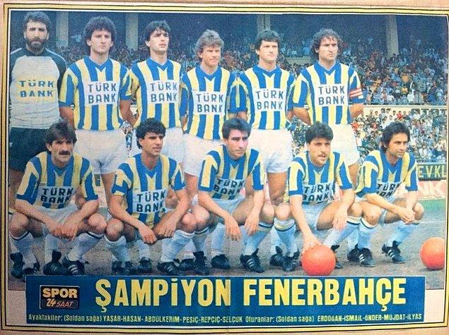 5. 1984-1985 sezonunda ligi 50'şer puanla tamamlayan Fenerbahçe, Beşiktaş'a göre +10 daha yüksek averaja sahip olması sayesinde şampiyon oldu.