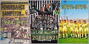 Ucu Ucuna Kazanılan ya da Kaçan Kupalar! Lig Tarihinde Averaj Farkıyla Belirlenen 5 Şampiyonluk