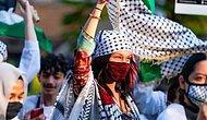 Filistin'e Destek Yürüyüşüne Katılan Bella Hadid'e İsrail'den Tepki: 'Yazıklar Olsun Sana'