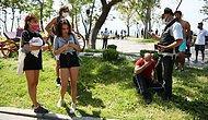 Antalya'daki Sapık Yakalandı! Sahildeki Kabinde Üstlerini Değiştiren Genç Kızları Videoya Çekiyordu