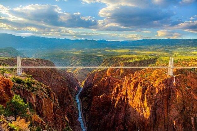 1. Royal Gorge Köprüsü - Cañon City, Colorado