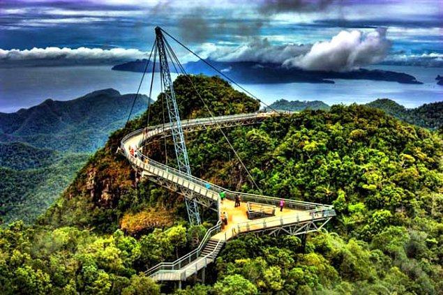 7. Langkawi Gökyüzü Köprüsü - Langkawi Adası, Malezya