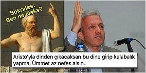 """Manyak Olursun Kanka! """"Felsefe İman Kaybettirir"""" Diyen Ebubekir Sofuoğlu'na Bomba Gibi Tepkiler"""