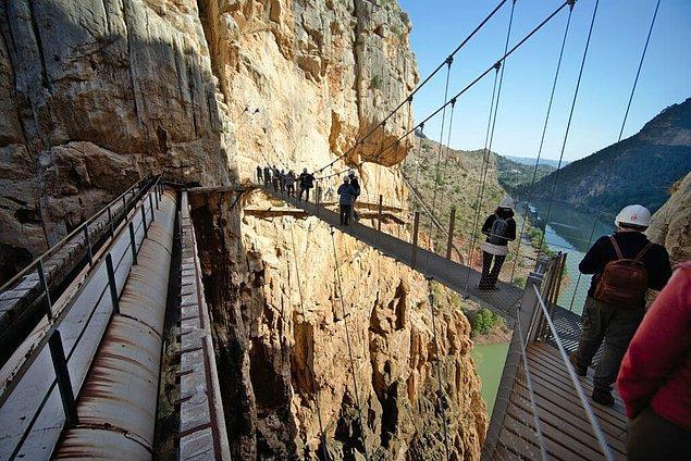 20. El Caminito del Rey - Ardales, İspanya