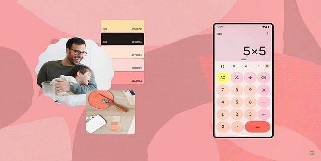 Kullandığımız widget'lar da tıpkı arayüz gibi renklerini duvar kağıdından alarak görsel uyumu tamamlayacak.