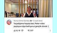 Sedat Peker'in Yayınladığı Son Videosuna Gelen Tuhaf Yorumlar