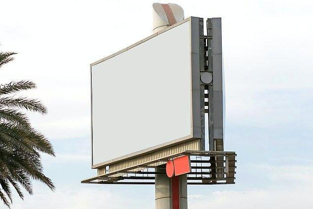 3. Alaska, Maine, Vermont ve Hawaii'de reklam panoları yasak.