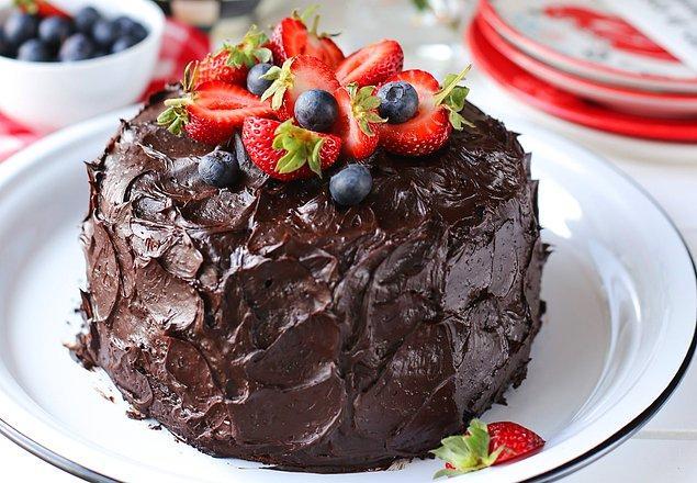 Boğa - Çikolatalı pasta