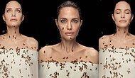 Angelina Jolie, 'Arılar Günü'nde Arılarla Objektif Karşısına Geçti