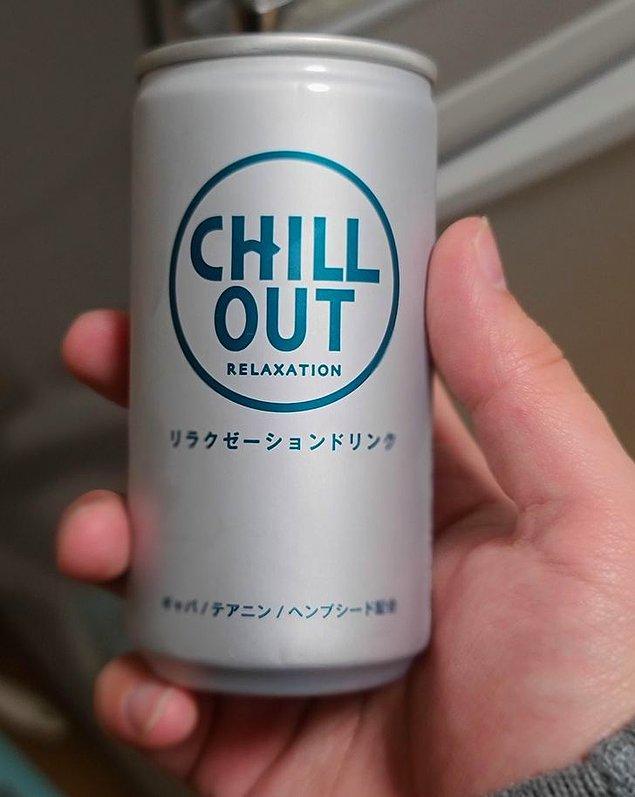 """5. """"Japonya'da enerji içeceklerinin tam tersi olan rahatlama içecekleri satılıyor."""""""
